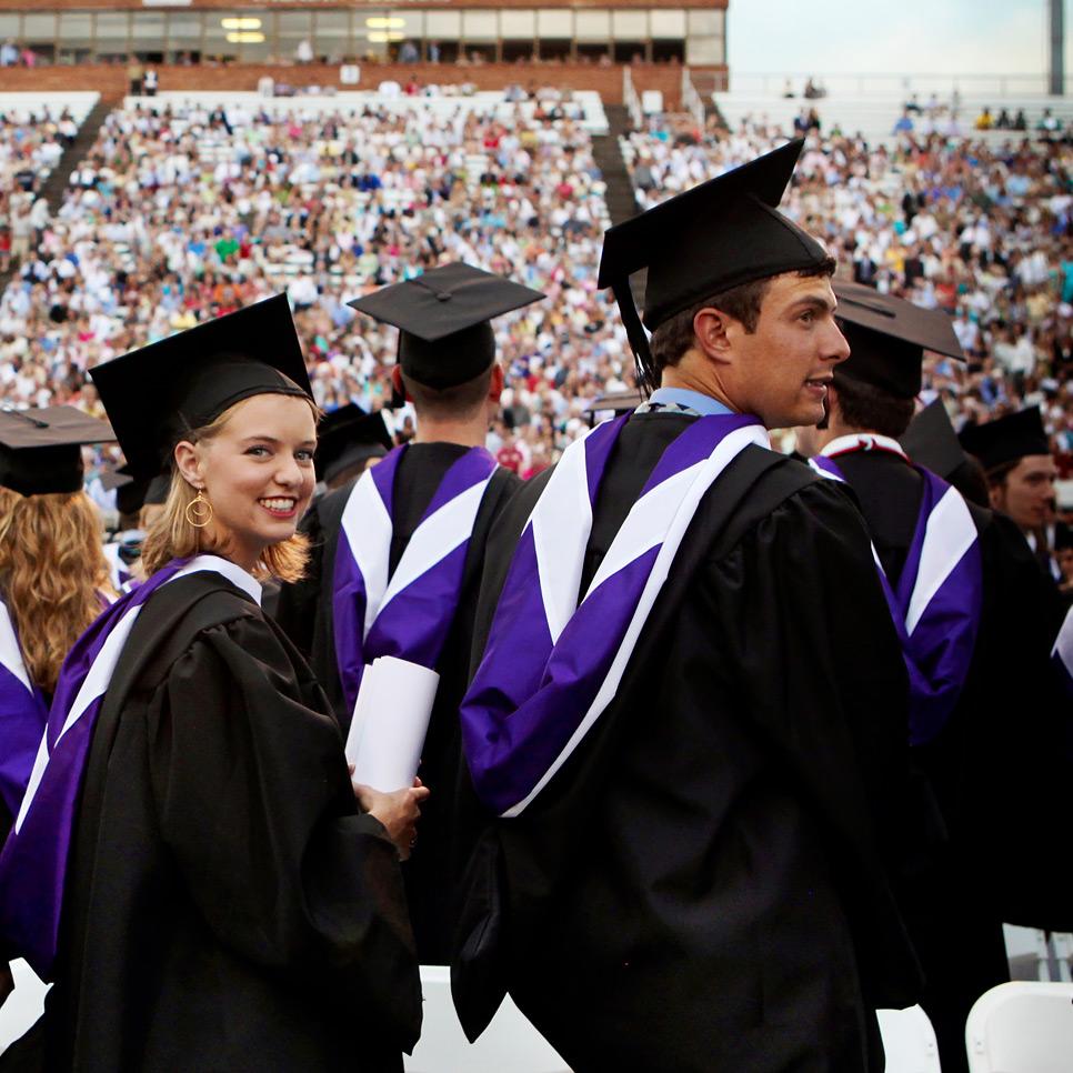 Furman graduation