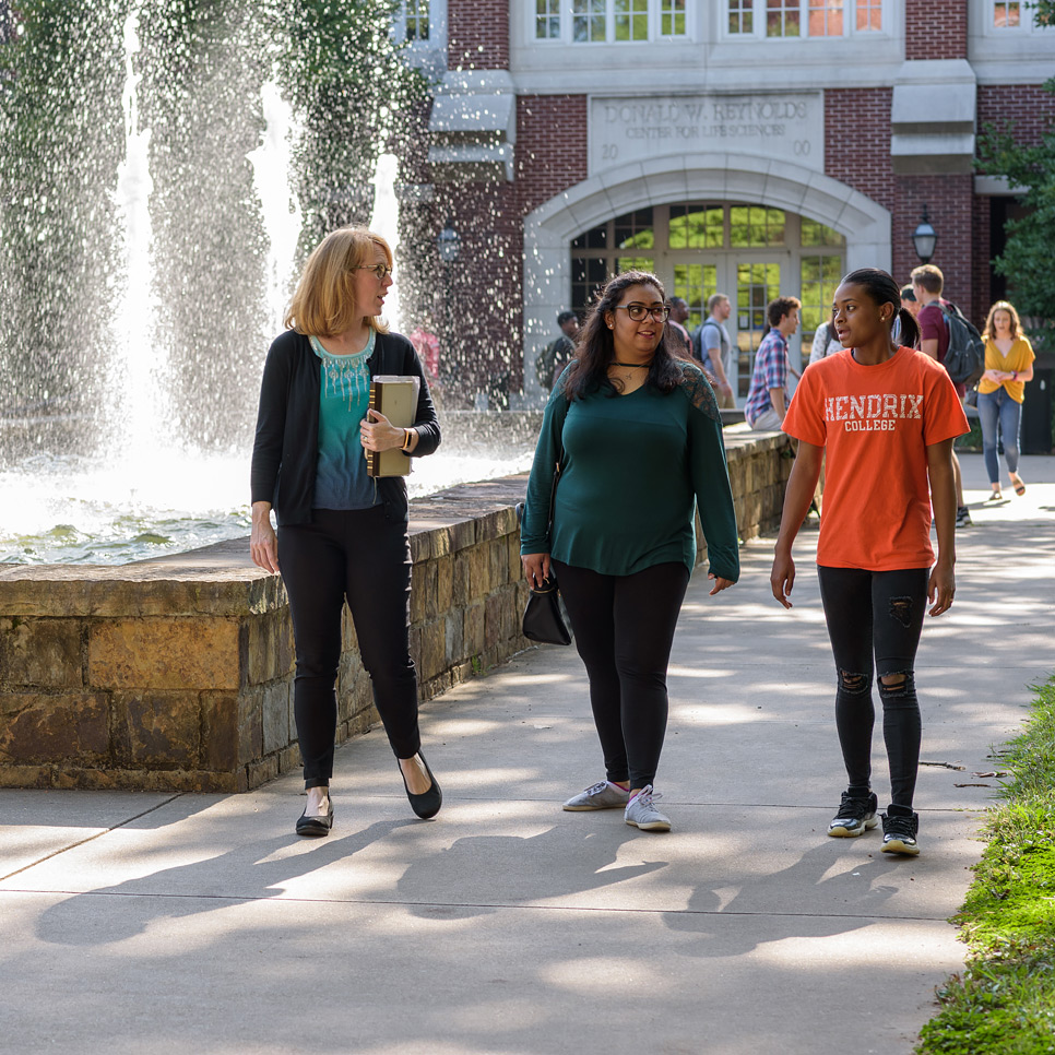 Hendrix College students