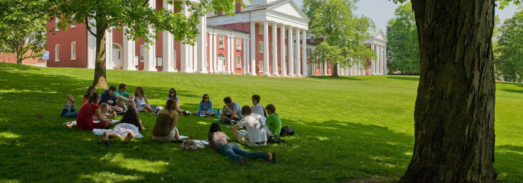 Washington and Lee students on campus