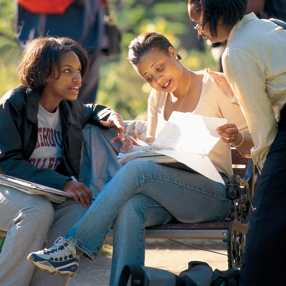Students at Spelman College